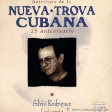 CDs de Música: SILVIO RODRÍGUEZ - UNICORNIO - CD SINGLE - 25 ANIVERSARIO DE LA NUEVA TROVA CUBANA - 1998. Lote 25136818
