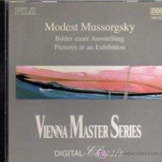 CDs de Música: CD - MODEST MUSSORGSKY - VIENNA MASTER SERIES . Lote 20819587