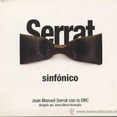 CDs de Música: JOAN MANUEL SERRAT - SINFONICO CD. Lote 20829545