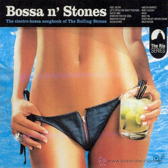 BOSSA N' STONES - CD - LO MEJOR DE LOS ROLLING STONES TAMIZADO SOUND BRASIL - PRECINTADO - DIGIPACK (Música - CD's World Music)