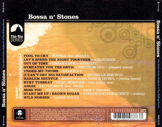 CDs de Música: BOSSA N STONES - CD - LO MEJOR DE LOS ROLLING STONES TAMIZADO SOUND BRASIL - PRECINTADO - DIGIPACK - Foto 2 - 24747641