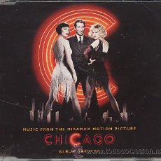 CDs de Música: BSO CHICAGO - ( CD SINGLE PROMOCIONAL EXCLUSIVO PARA RADIOS ). Lote 20926990