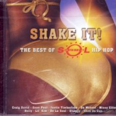 CDs de Música: SHAKE IT! THE BEST OF SOL MUSICA HIP HOP (2003). Lote 26610316