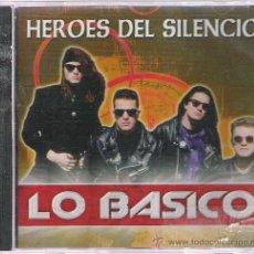 CDs de Música: HEROES DEL SILENCIO LO BASICO. Lote 21269812