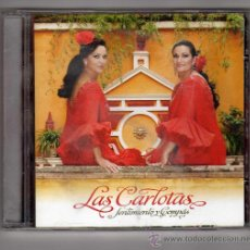 CDs de Música: CARÁTULA ORIGINAL DE LAS CARLOTAS · SENTIMIENTO Y COMPÁS · NO INCLUYE CD.. Lote 25110914