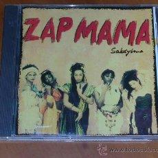 CDs de Música: ZAP MAMA. SABSYLMA. Lote 27464448