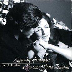 Alejandro fernandez gloria estefan pro cd sigle comprar for Cancion en el jardin de alejandro fernandez