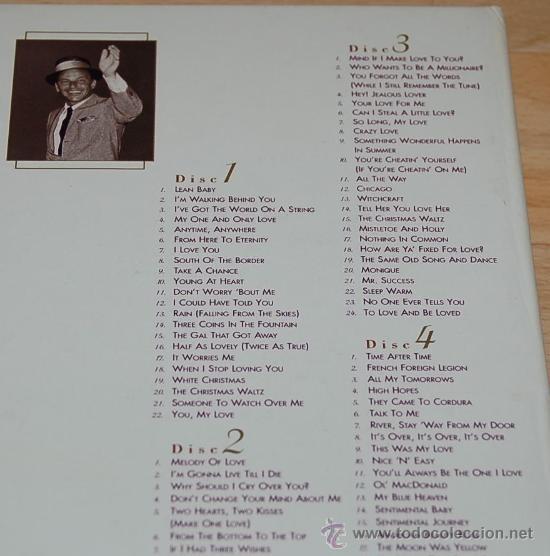 CDs de Música: FRANK SINATRA - THE COMPLETE CAPITOL SINGLES - SET BOX - Foto 4 - 26940231