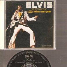 CDs de Música: CD ELVIS PRESLEY - AS RECORDED AT MADISON SQUARE GARDEN . Lote 21803579