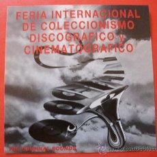 CDs de Música: CD PROMOCIONAL FERIA INTERNACIONAL DISCOGRAFICO Y CINEMATOGRAFICO VER TEMAS EN FOTO ADICIONAL. Lote 27340620