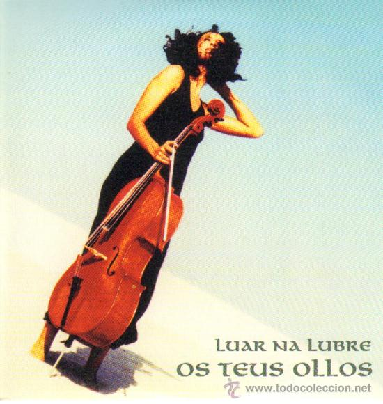 MUSICA GOYO - CD SINGLE - LUAR NA LUBRE - OS TEUS OLLOS - FOLK - *AA98 (Música - CD's World Music)