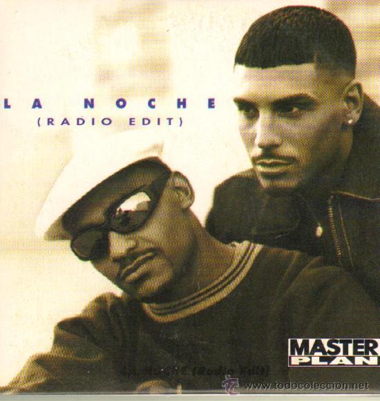 MUSICA GOYO - CD SINGLE - MASTER PLAN - LA NOCHE RADIO EDIT - POP - *CC99 (Música - CD's Hip hop)