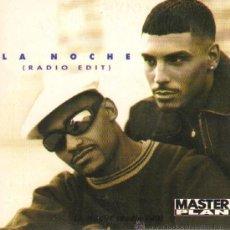 CDs de Música: MUSICA GOYO - CD SINGLE - MASTER PLAN - LA NOCHE RADIO EDIT - POP - *CC99. Lote 21824172
