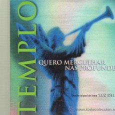 CDs de Música: MUSICA GOYO - CD SINGLE - TEMPLO *GG99. Lote 21825969