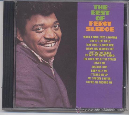 PERCY SLEDGE,THE BEST (Música - CD's Jazz, Blues, Soul y Gospel)