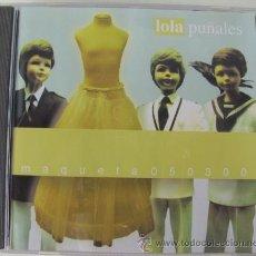 CDs de Música: LOLA PUÑALES - MAQUETA 50300 -. Lote 21895800