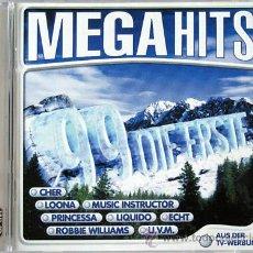 CDs de Música: DANCE-MEGA HITS 99 2CDS IMPORT ,PRINCESSA,ROBBIE WILLIAMS,MELANIE B FEATURING MISSY ELLIOT ..... Lote 22000929