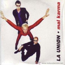 CDs de Música: CD-SINGLE: MAL KARMA - LA UNIÓN. Lote 22549199