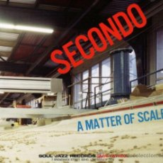 CDs de Música: SECONDO - CD - MATTER OF SCALE - DIGIPACK - SOUL JAZZ - PRECINTADO!!!. Lote 26334432