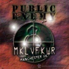 CDs de Música: PUBLIC ENEMY - 2 CD - REVOLVERLUTION TOUR 2003 MANCHESTER - MUY LTD - PRECINTADO!!!. Lote 27320912