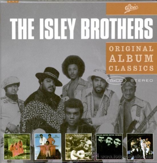 ISLEY BROTHERS * BOX 5CD *ORIGINAL ALBUM CLASSICS * CAJA DURA CON SUS MEJORES 5 ÁLBUMES * PRECINTADO (Música - CD's Jazz, Blues, Soul y Gospel)