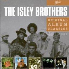 CDs de Música: ISLEY BROTHERS * BOX 5CD *ORIGINAL ALBUM CLASSICS * CAJA DURA CON SUS MEJORES 5 ÁLBUMES * PRECINTADO. Lote 27273521