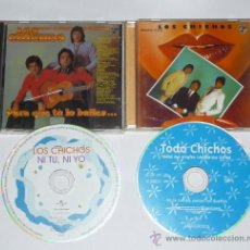 CDs de Música: LOS CHICHOS,PARA QUE TU LO BAILES,DEJAME SOLO, NI TU NI YO,TODOS SUS SINGLES EXITOS,CDS UNIVERSAL. Lote 23005806