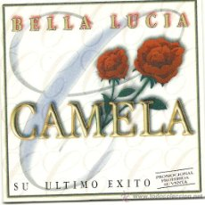 CDs de Música: CAMELA. BELLA LUCIA (CD SINGLE PROMO 2002 ). Lote 23104061