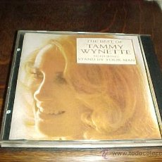 CDs de Música: THE BEST OF TAMMY WYNETTE. FEATURING: STAND BY YOUR MAN. EPIC 197.. Lote 23139054