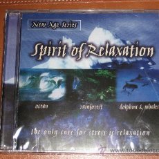 CDs de Música: SPIRIT OF RELAXATION - OCEAN, RAINFOREST, DOLPHINS & WHALES. Lote 27268393