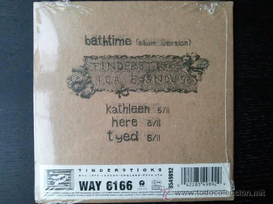 CDs de Música: TINDERSTICKS - BATHTIME - CD SINGLE - LIVE - 1997 - Foto 2 - 26669794