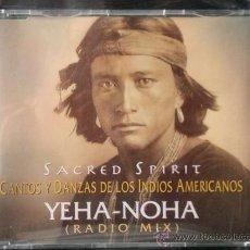 CDs de Música: SACRED SPIRIT - YEHA NOHA - RADIO MIX - CD SINGLE PROMO - 1994. Lote 23262584