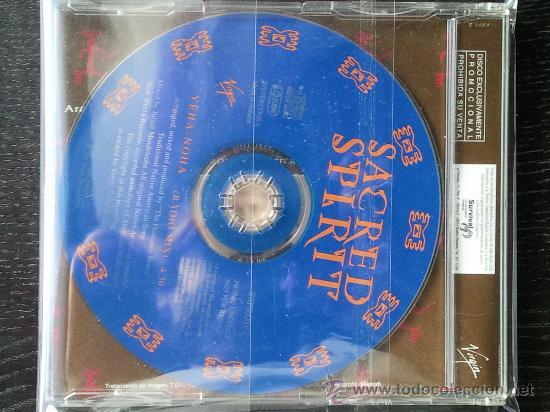 CDs de Música: SACRED SPIRIT - YEHA NOHA - RADIO MIX - CD SINGLE PROMO - 1994 - Foto 2 - 23262584