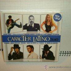 CDs de Música: CD-CARACTER LATINO-.(3 CD´S + DVD)-FOTOS. Lote 38362988