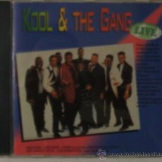 CDs de Música: KOOL & THE GANG IN LIVE. Lote 23278520