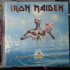 CDs de Música: IRON MAIDEN - SEVENTH SON OF A SEVENTH SON - DOBLE CD ALBUM - 1998. Lote 27342235
