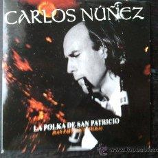 CDs de Música: CARLOS NUÑEZ - LA POLKA DE SAN PATRICIO - CD SINGLE - PROMO - SONY - 2003. Lote 23287043