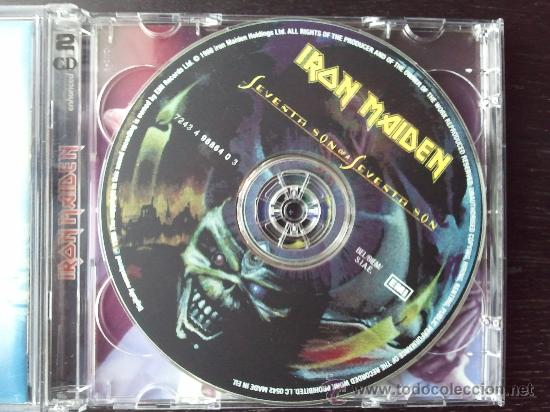 CDs de Música: IRON MAIDEN - SEVENTH SON OF A SEVENTH SON - DOBLE CD ALBUM - 1998 - Foto 2 - 27342235