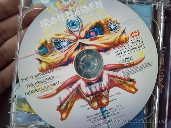 CDs de Música: IRON MAIDEN - SEVENTH SON OF A SEVENTH SON - DOBLE CD ALBUM - 1998 - Foto 3 - 27342235