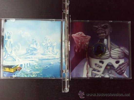 CDs de Música: IRON MAIDEN - SEVENTH SON OF A SEVENTH SON - DOBLE CD ALBUM - 1998 - Foto 4 - 27342235