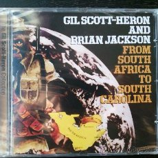 CDs de Música: GIL SCOTT HERON AND BRIAN JACKSON - FROM SOUTH AFRICA TO SOUTH CAROLINA - CD ALBUM - TVT - 2005. Lote 26554082