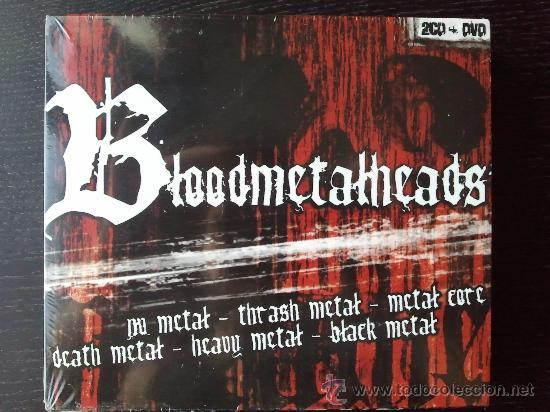 BLOODMETALHEADS - DOBLE CD ALBUM + DVD - DIVUCSA - 2005 (Música - CD's Heavy Metal)