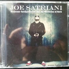 CDs de Música: JOE SATRIANI - PROFESSOR SATCHAFUNKILUS AND THE MUSTERION OF ROCK - CD + DVD - BMG - 2008. Lote 26773437