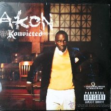 CDs de Música: AKON - KONVICTED - CD ALBUM - UNIVERSAL - 2006. Lote 26849703