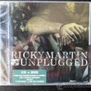 CDs de Música: RICKY MARTIN - MTV UNPLUGGED - CD + DVD EDITION - SONY - 2006. Lote 26532299
