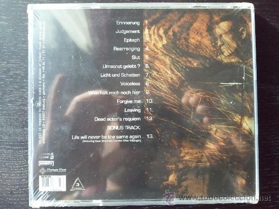 CDs de Música: L´AME IMMORTELLE - DANN HABE ICH UMSONST GELEBET - CD ALBUM - MATRIX CUBE - Foto 3 - 26805709