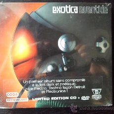CDs de Música: EXOTICA - EVENTIDE - LIMITED EDITION CD + DVD - FLAT LUX - 2003. Lote 26397913
