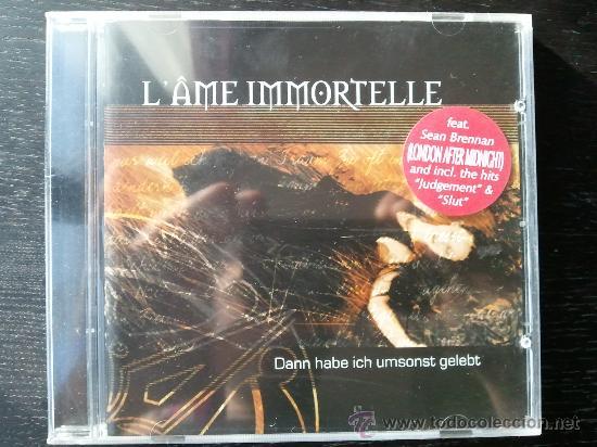 L´AME IMMORTELLE - DANN HABE ICH UMSONST GELEBET - CD ALBUM - MATRIX CUBE (Música - CD's Heavy Metal)