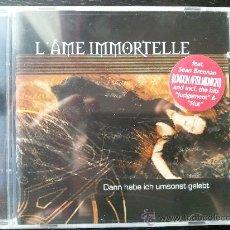 CDs de Música: L´AME IMMORTELLE - DANN HABE ICH UMSONST GELEBET - CD ALBUM - MATRIX CUBE. Lote 26805709