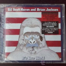 CDs de Música: GIL SCOTT HERON AND BRIAN JACKSON - IT´S YOUR WORLD - CD ALBUM - 2005. Lote 26574379